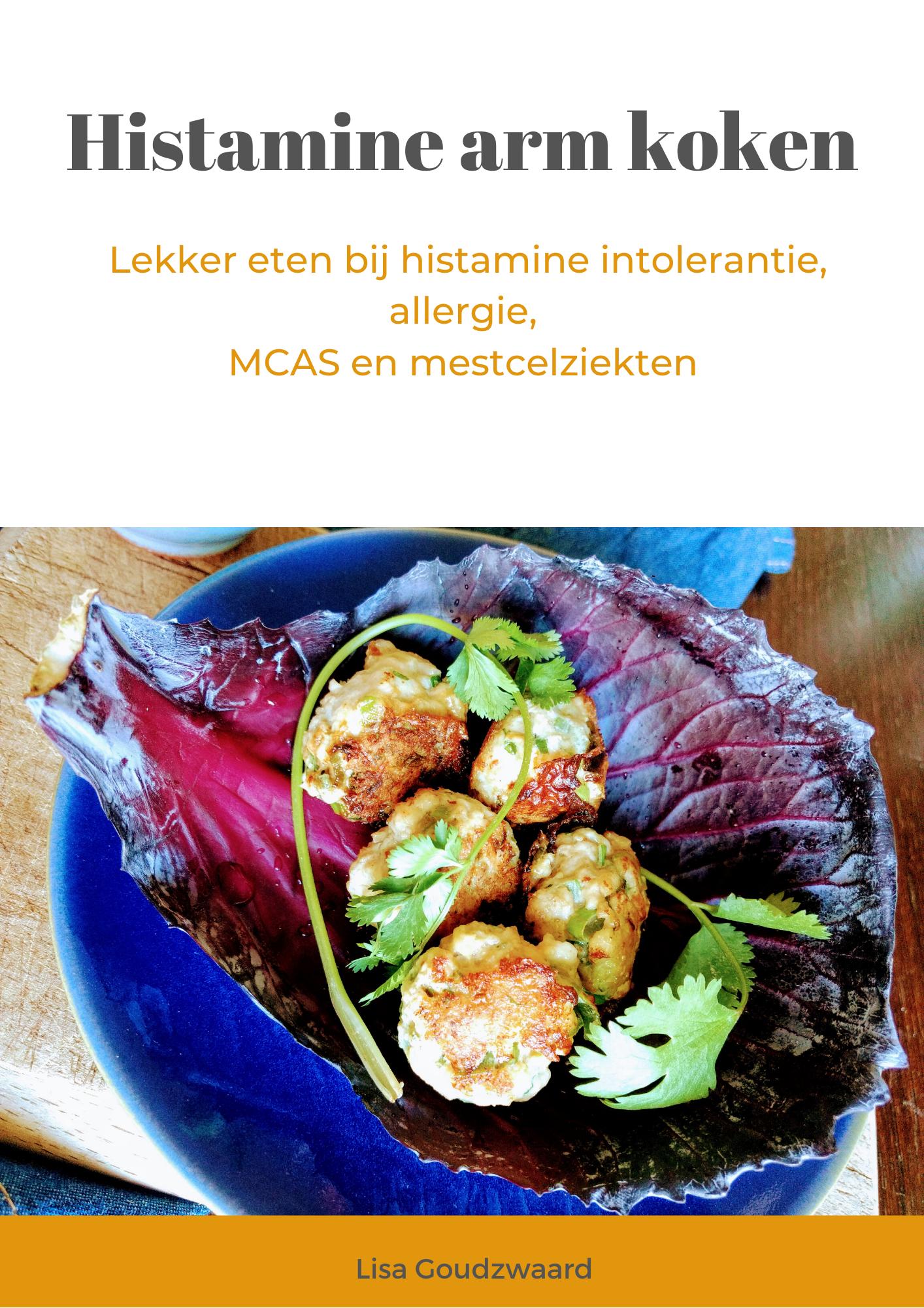 Kookboek Histamine Arm Koken